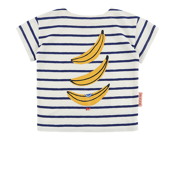 Bananas baby stripe short sleeve tee