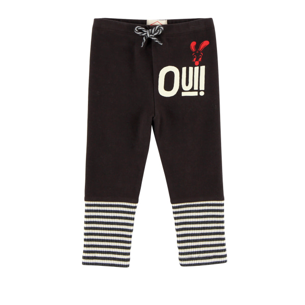 Oui baby stripe color block leggings  NEW FALL