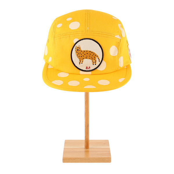 Multi sprinkle dots cheetah camp cap