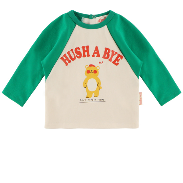 Hush a bye baby raglan long sleeve tee  NEW FALL