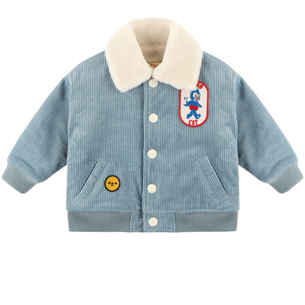 Astro cat baby corduroy bomber jacket  NEW WINTER