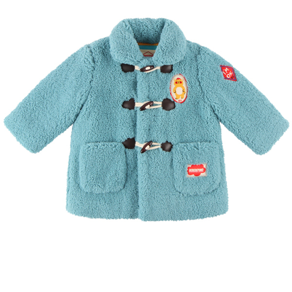 Bear baby fur duffle coat  NEW WINTER