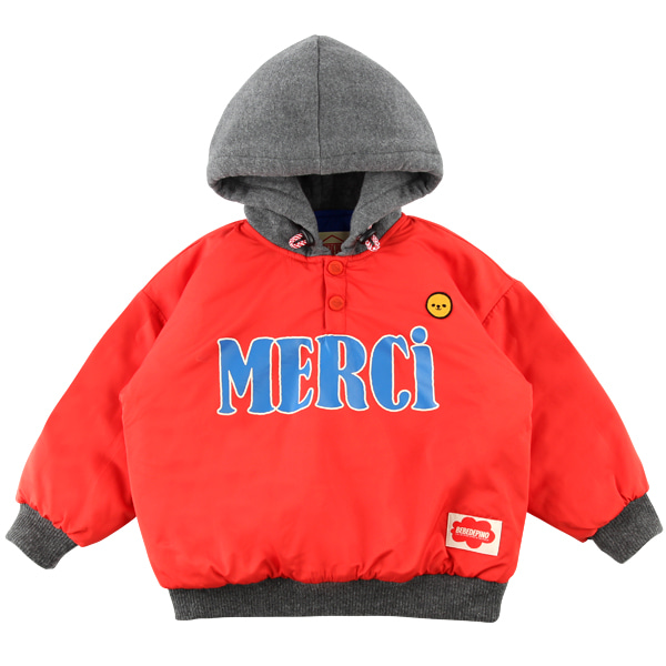 Merci padded hoodie sweatshirt  NEW WINTER