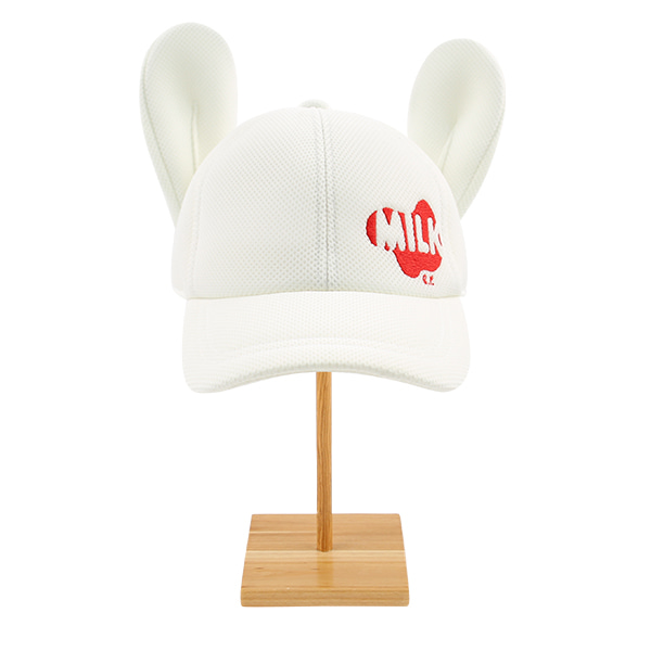 Milk rabbit ear neoprene mesh cap  NEW SPRING