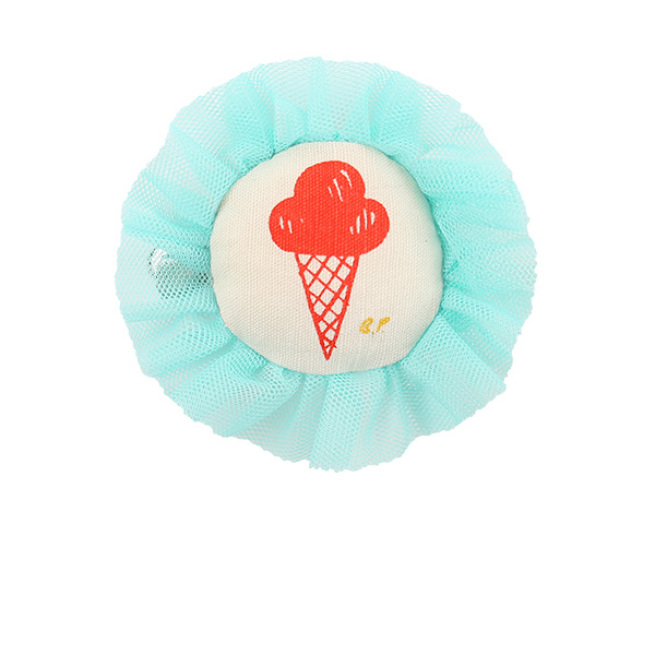 Ice cream frill hair clip