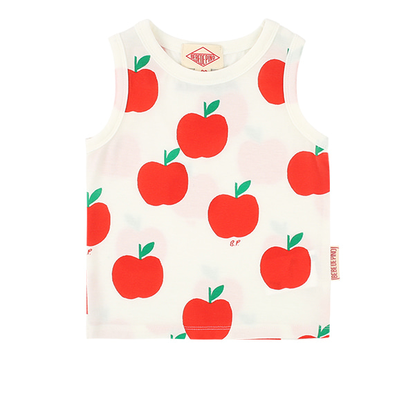 All over apple baby tank top  NEW SUMMER