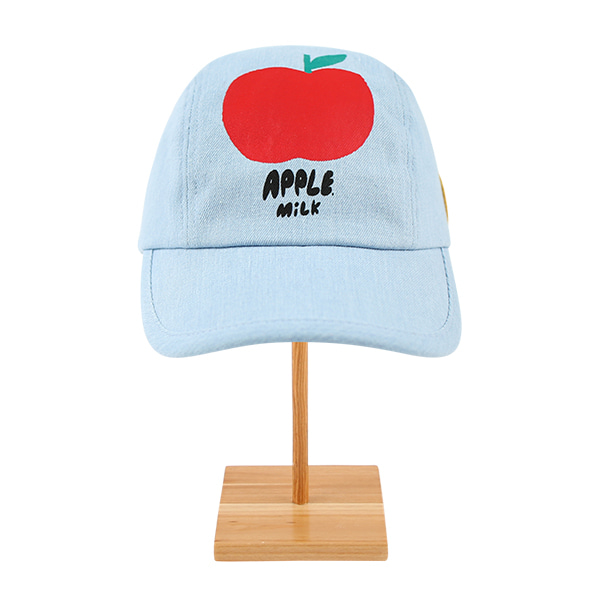 Apple milk 3-panel denim cap  NEW SUMMER