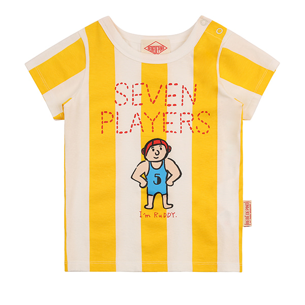 Seven players baby bold stripe short sleeve tee_