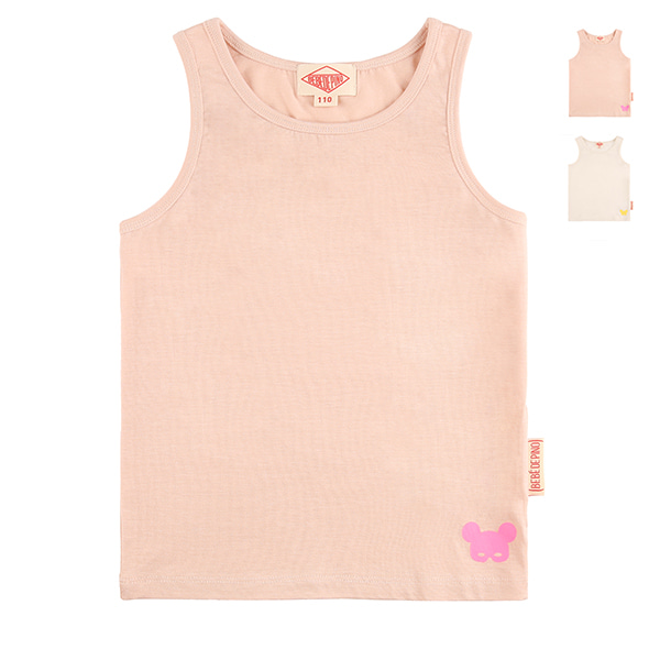 Basic color pino tencel tank top