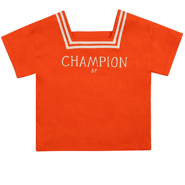 Champion square neck marine tee_