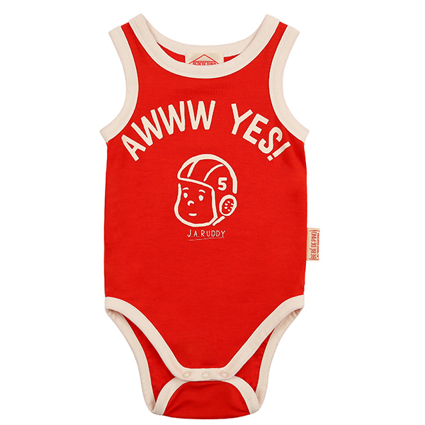 Ruddy baby sleeveless bodysuit_