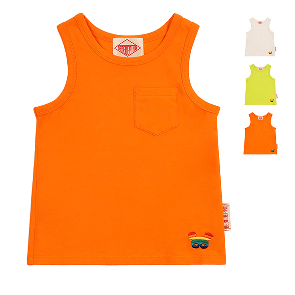 Basic baby rainbowpino sleeveless tee