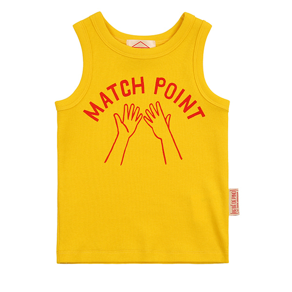 Match point baby tank top_