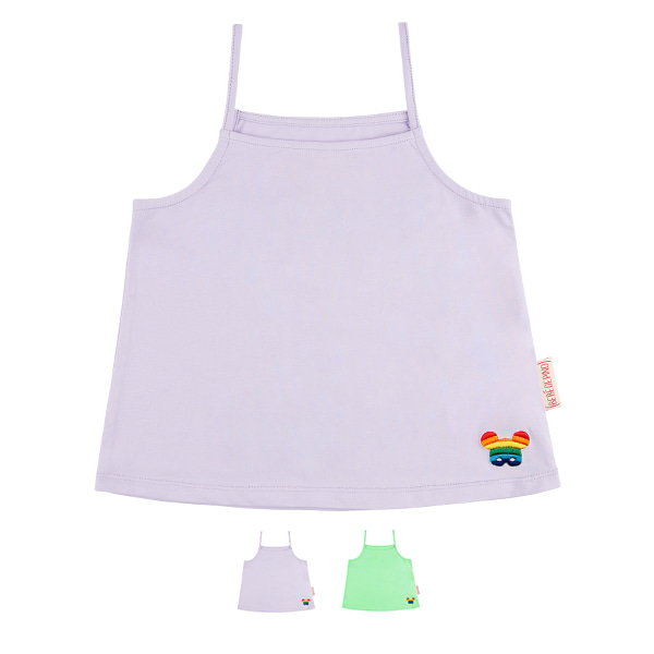 Basic rainbow pino camisole tank top