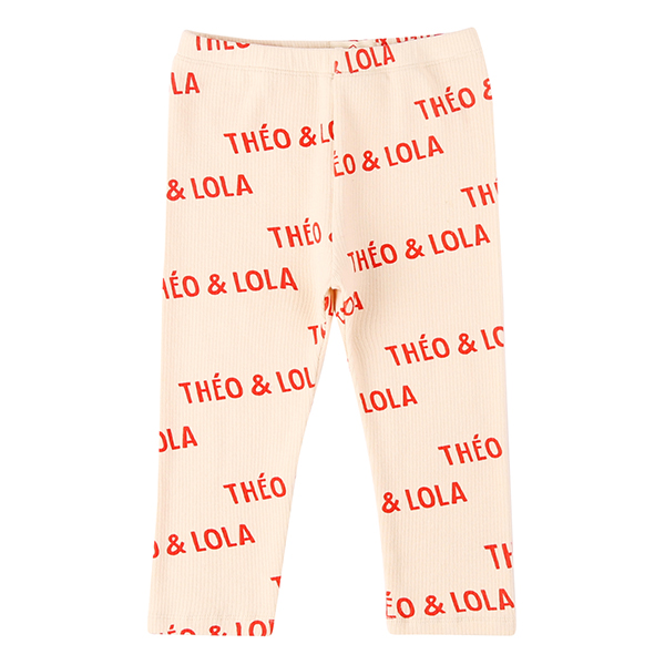 Multi theo and lola baby leggings_