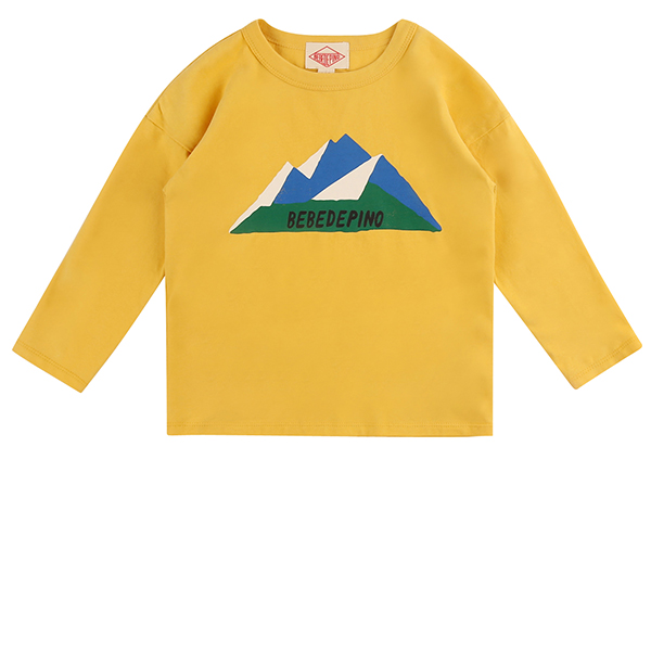 Mountain long sleeve tee_