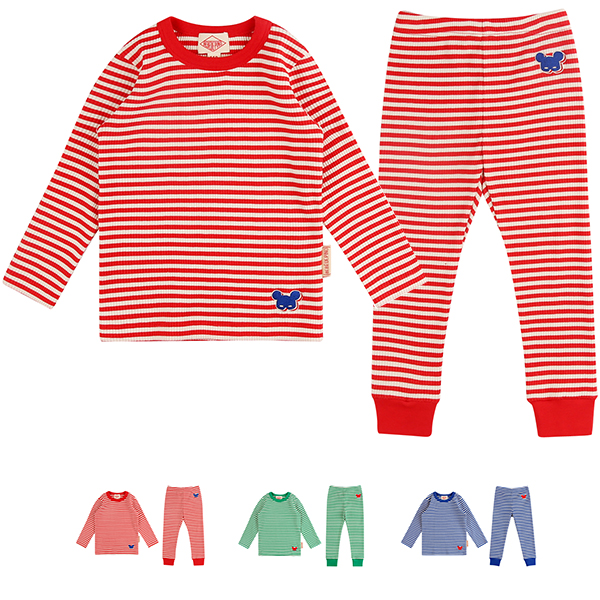 Basic shadow pino stripe homewear set_