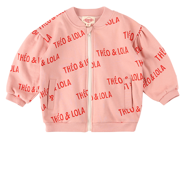 Multi theo and lola baby volume zip up jacket_