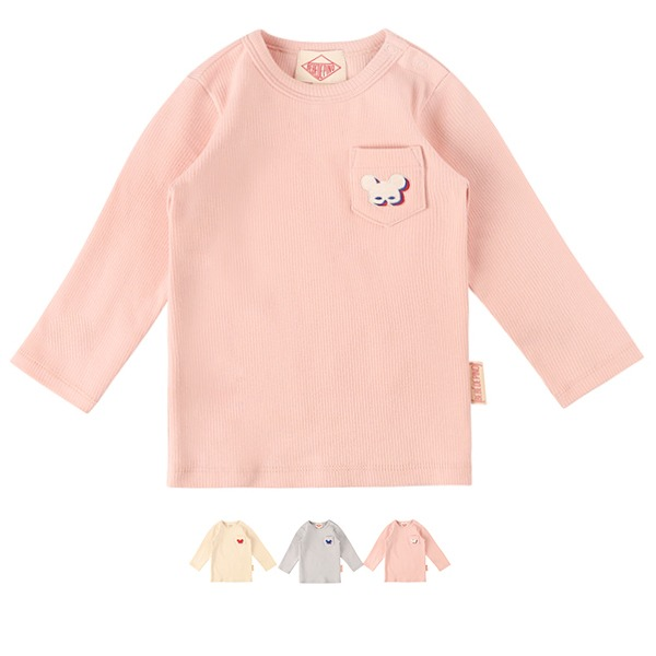 Basic baby shadow pino long sleeve tee_