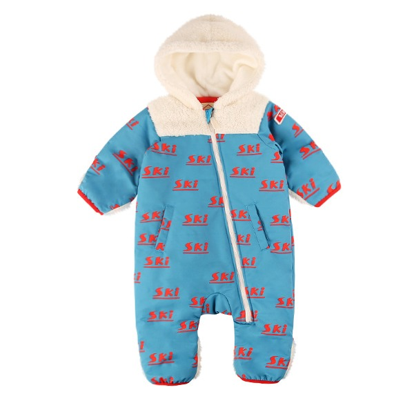 Multi ski baby winter overall