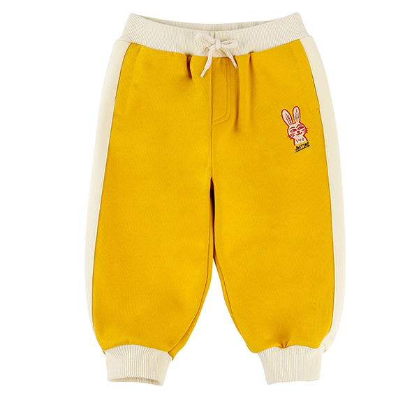 Rabbit baby color block jersey pants_