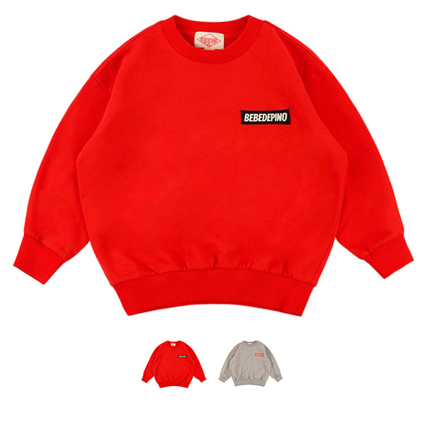 Basic bebedepino loose fit sweatshirt