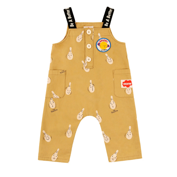 Multi bowling pin baby playsuit
