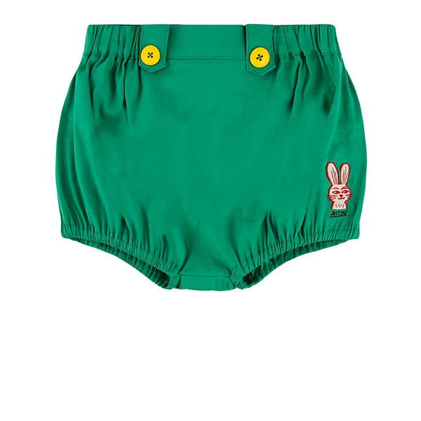 Rabbit baby green bloomer_