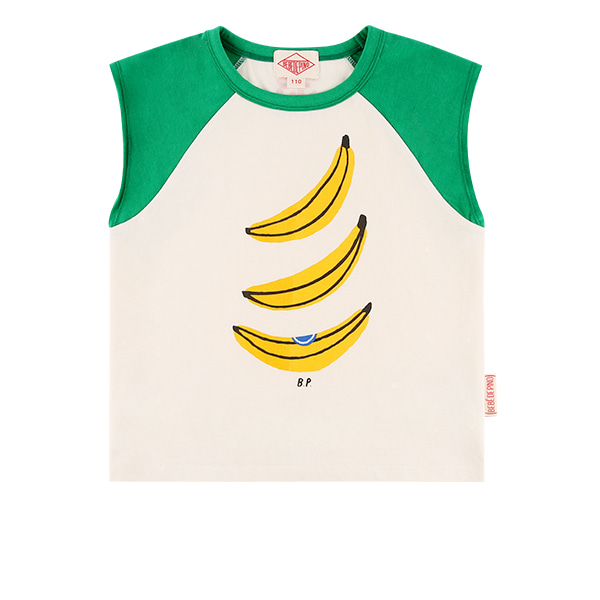 Banana raglan sleeve loose fit tee