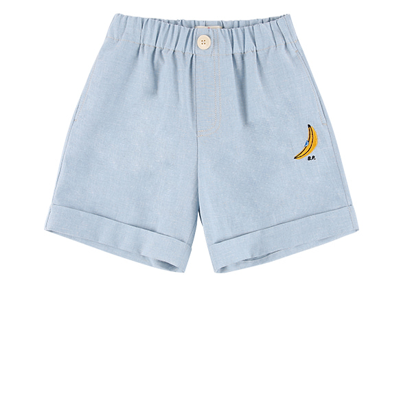 Banana linen cotton shorts