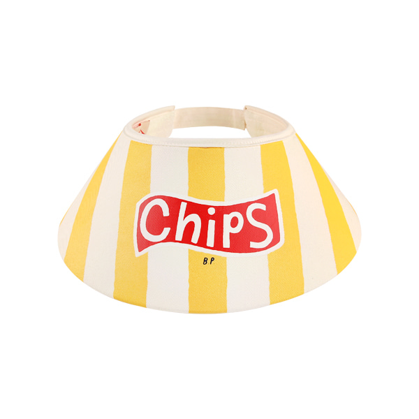 Chips vertical stripe sun cap