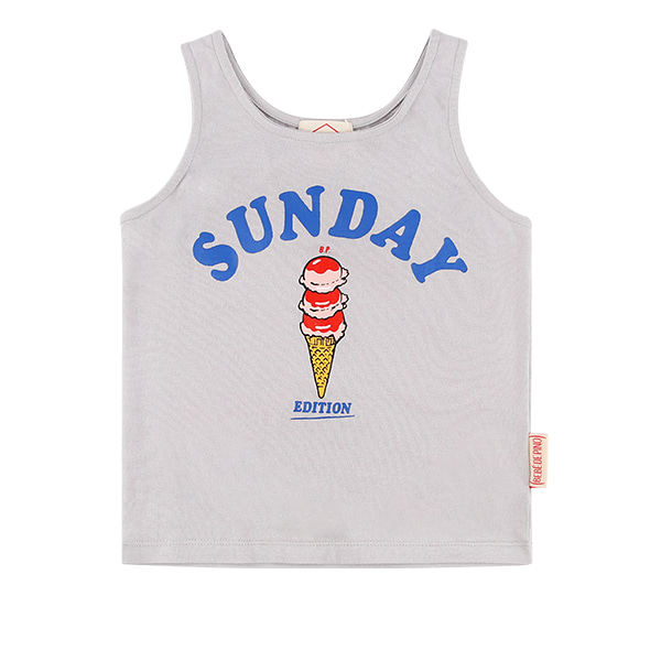 Sunday square neck tank top