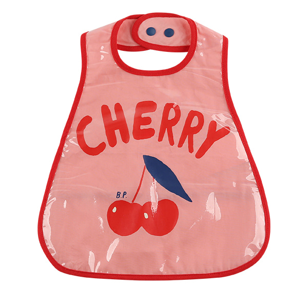 Cherry baby feeding bib