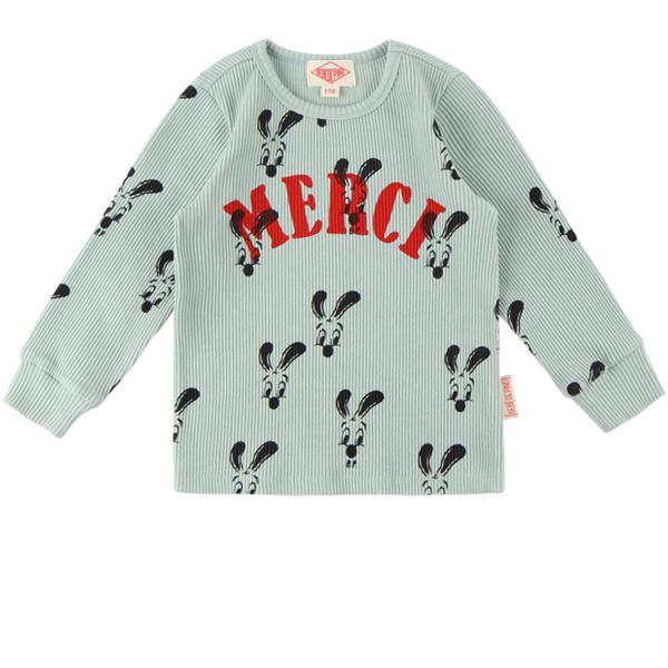 Merci multi bunny long sleeve tee  NEW FALL