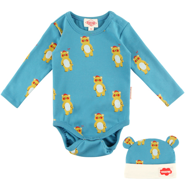 Multi bear baby bodysuit set  NEW FALL