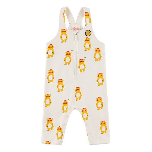 Multi bear baby zip up playsuit  NEW FALL