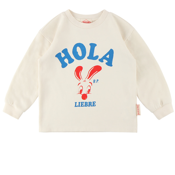 Hola bunny long sleeve tee  NEW FALL