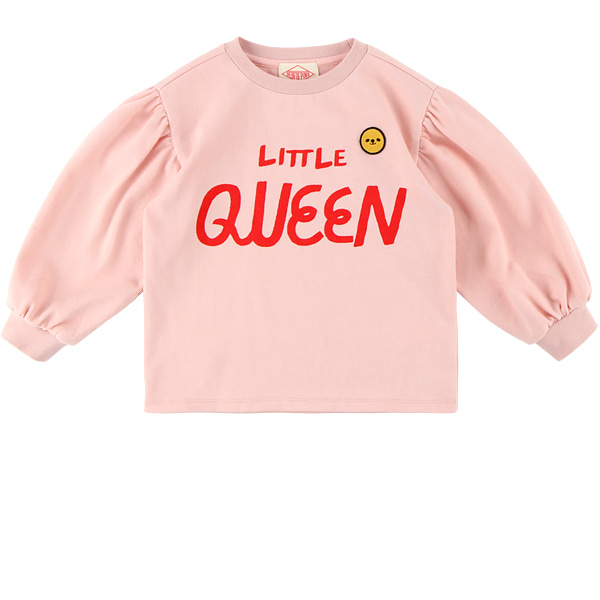 Little queen puff sleeve tee  NEW FALL