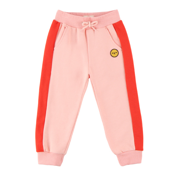 Smile color block sweat pants  NEW FALL