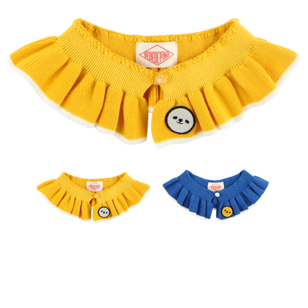 Baby ruffle sweater collar