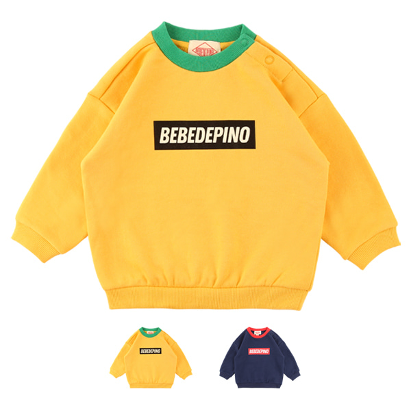 Basic baby colorblock sweatshirt  NEW FALL