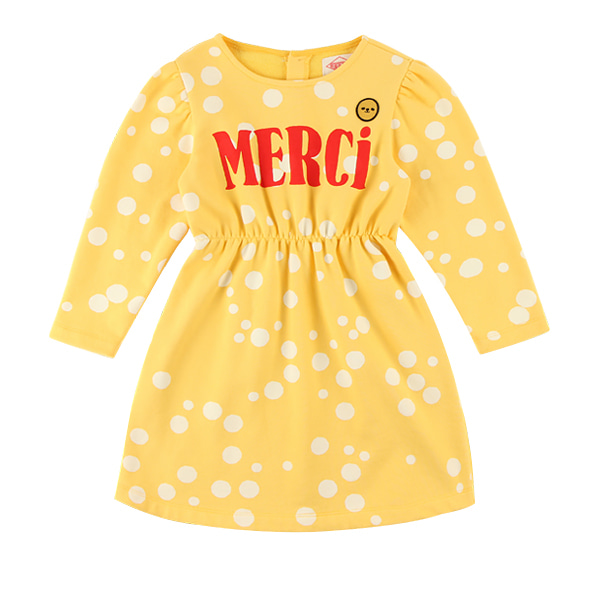 Merci multi sprinkle dots jersey dress