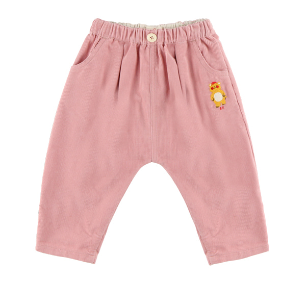 Bear baby corduroy pants