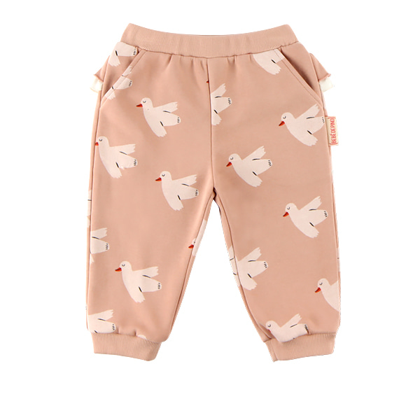Multi dove baby ruffle sweat pants  NEW FALL