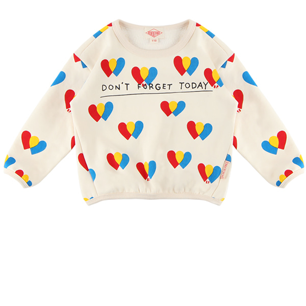 Multi heart balloon sweatshirt  NEW FALL