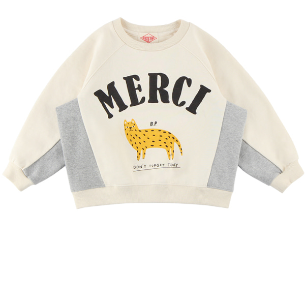Merci cheetah raglan sweatshirt