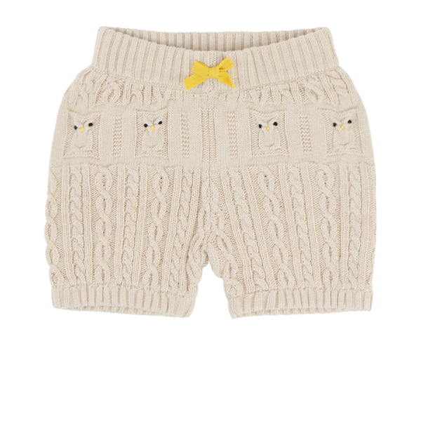 Owl baby sweater pants