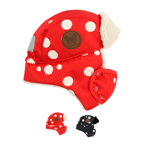 Multi sprinkle dots mask aviator hat  NEW WINTER