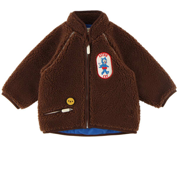 Astro cat baby fluffy fur jacket