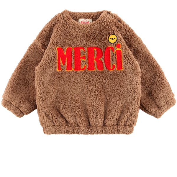 Merci baby boa fur sweatshirts  NEW WINTER